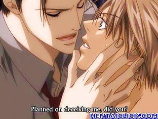 Hot Anime  Bareback Sex And Kiss