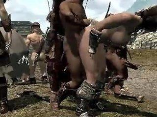 Skyrim Slut Get Fucked
